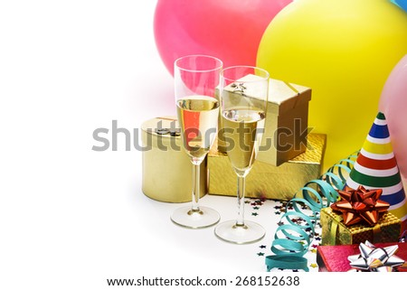 Party celebration - stock photo