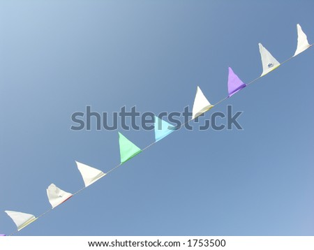 Party Flags in the Sky