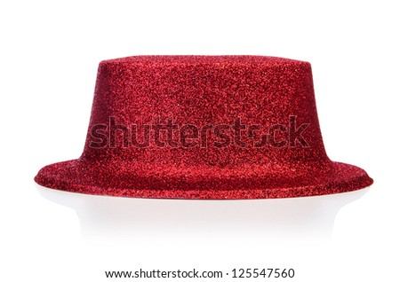 Party hats isolated on the white background - stock photo