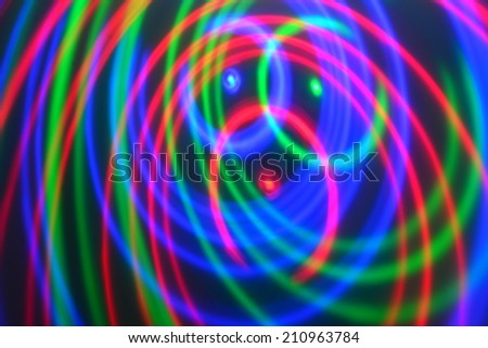 Party light background