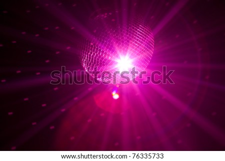 party lights background - stock photo