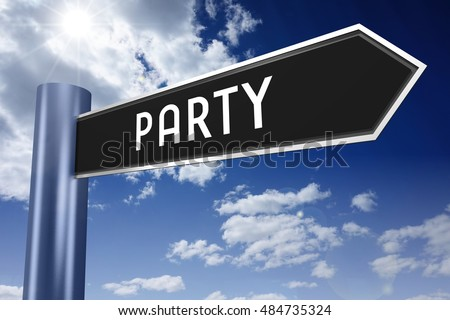 Party signpost