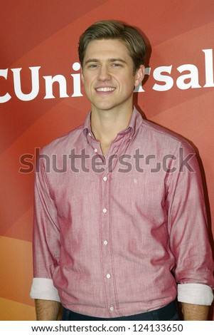 Pasadena ca jan 7 aaron tveit stock photo 124134718 for 18 8 salon pasadena