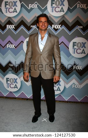 PASADENA, CA - JAN 8:  Antonio Sabato Jr. attends the FOX TV 2013 TCA Winter Press Tour at Langham Huntington Hotel on January 8, 2013 in Pasadena, CA - stock photo