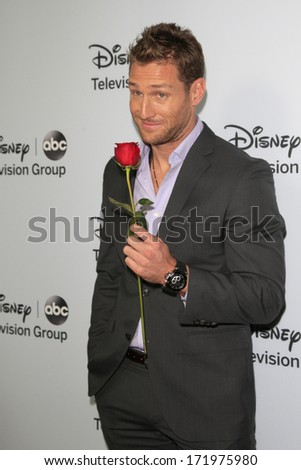 PASADENA, CA - JAN 17: Juan Pablo Galavis at the ABC/Disney TCA Winter Press Tour party at The Langham Huntington Hotel on January 17, 2014 in Pasadena, CA