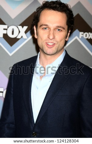 PASADENA, CA - JAN 8:  Matthew Rhys attends the FOX TV 2013 TCA Winter Press Tour at Langham Huntington Hotel on January 8, 2013 in Pasadena, CA - stock photo