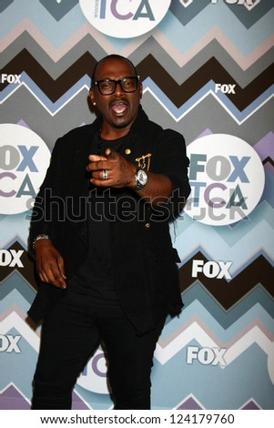 PASADENA, CA  - JAN 8:  Randy Jackson attends the FOX TV 2013 TCA Winter Press Tour at Langham Huntington Hotel on January 8, 2013 in Pasadena, CA - stock photo
