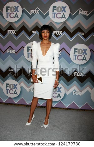 PASADENA, CA  - JAN 8:  Tamara Taylor attends the FOX TV 2013 TCA Winter Press Tour at Langham Huntington Hotel on January 8, 2013 in Pasadena, CA - stock photo