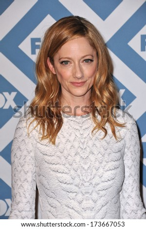 PASADENA, CA - JANUARY 13, 2014: Judy Greer at the Fox TCA All-Star Party at the Langham Huntington Hotel, Pasadena.