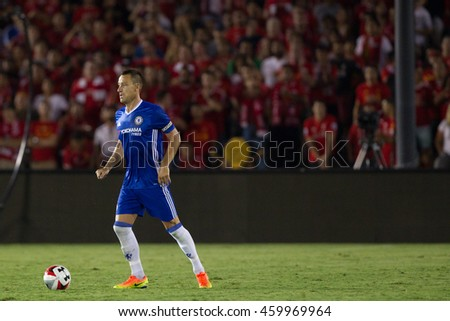 PASADENA, CA - JULY 27: John Terry during the 2016 ICC game between Chelsea & Liverpool on July 27th 2016 at the Rose Bowl in Pasadena, Ca.