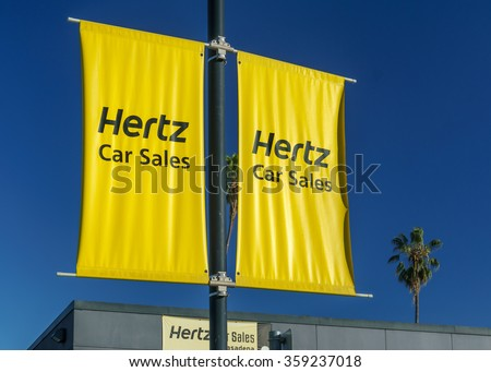 Hertz Rental Car Sales Pasadena