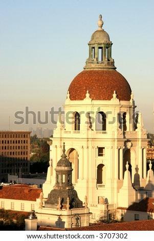 Pasadena City Hall at Sunrise