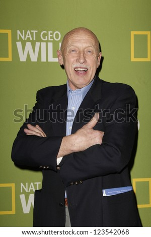 PASADENA - JAN 3: Dr Pol of the show 'The Incredible Dr Pol' at the National Geographic Channels TCA party on January 3, 2013 at the Langham Hotel in Pasadena, California - stock photo
