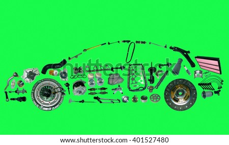 car parts list with pictures auto spare parts stock images royalty free images 11968