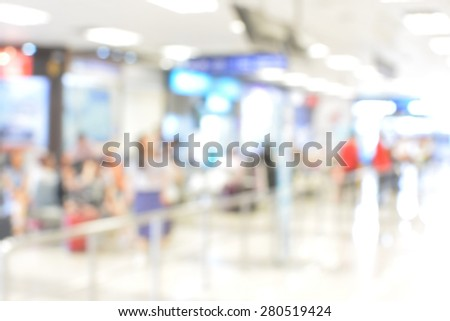 passenger in the Chiang Mai of the airport. - stock photo