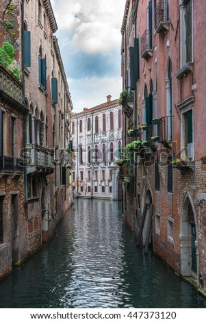 Passing through Old Venice