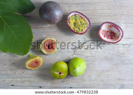 passion fruit and fig