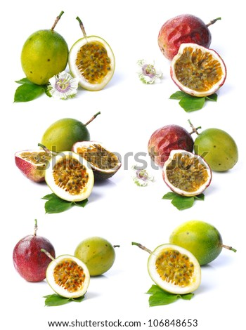 Passion fruit collection