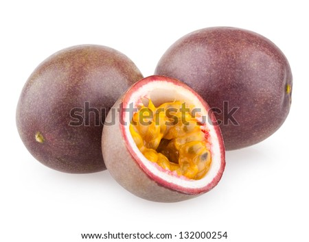 passion fruits - stock photo