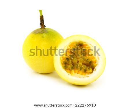 Passionfruit - stock photo