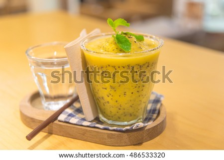 passionfruit juice
