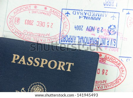 Passport, Visa and Immigration concept