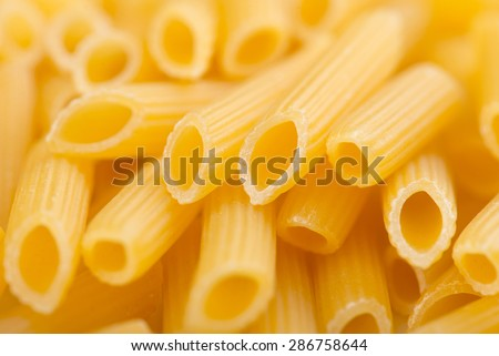 Pasta background - stock photo