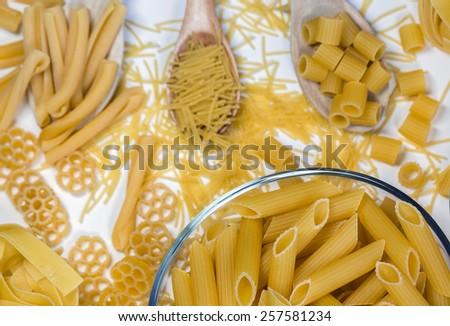 Pasta Macaroni - stock photo