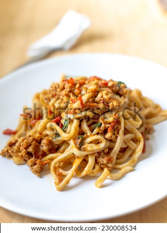 pasta thai chili paste homemade recipes