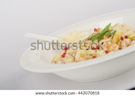 pasta with cranberries
