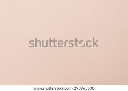 Pastel beige orange cream tone water color paper texture: Water colour paper textured background in light beige orange creme tone    - stock photo