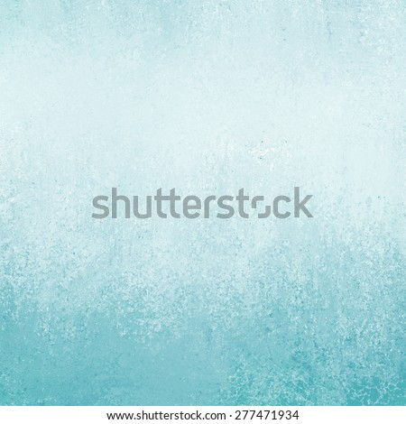 pastel blue background with texture and grunge border - stock photo