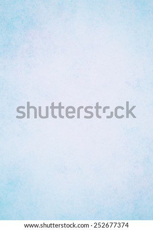 pastel blue background with vintage texture layout - stock photo