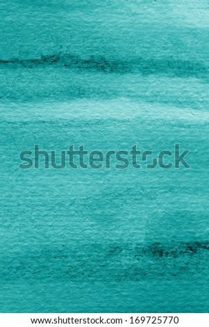 Pastel Blue Watercolor Background 5 - stock photo