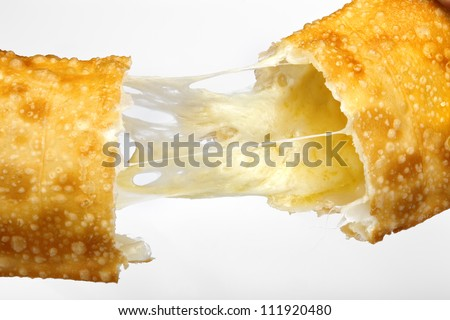 Pastel - Brazilian pastry - stock photo