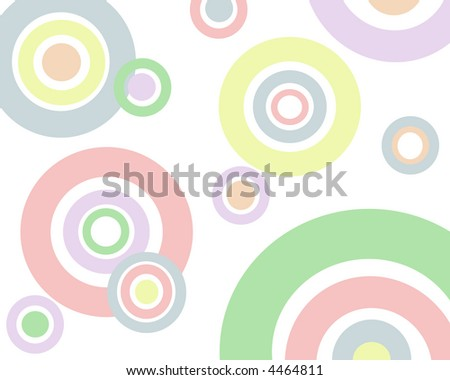 Pastel circles background