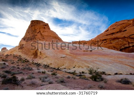 Pastel color at White Domes in Valley Of Fire State Park