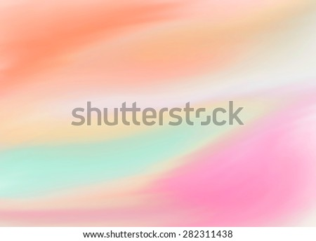 Pastel colors digital painted texture background. Abstract illustration, colorful design card for banner, wallpaper, decoration, web, print, template - stock photo