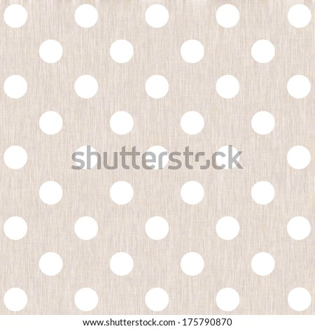 Pastel dotted background, linen texture for advertising poster, wrapping paper, label, Valentine's Day, greeting card, scrapbook, wedding invitation etc.  - stock photo