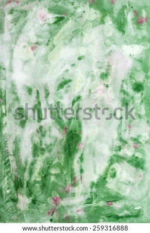 Pastel grunge painted paper with nice watercolor paint, useful for element desig as wallpaper, texture and background - stock photo