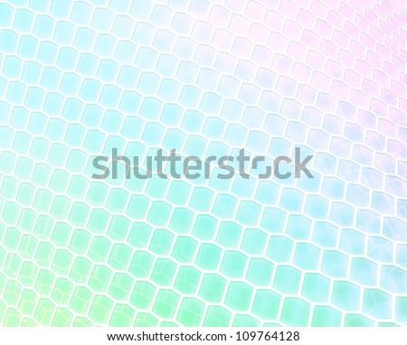 Pastel Twist - stock photo