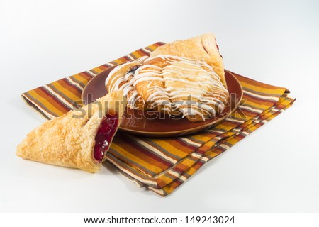 pastry group - stock photo