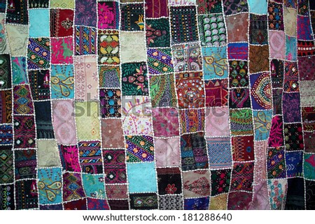 Patchwork -Quilt for backgrounds