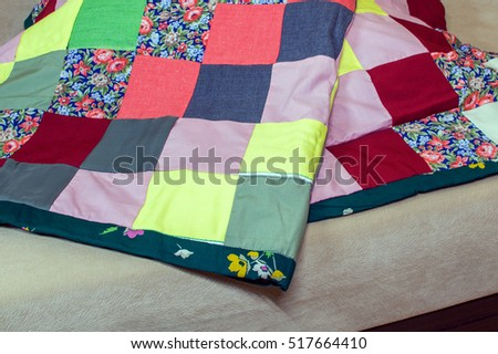 Patchwork Quilt Stock Images, Royalty-Free Images & Vectors ... : patchwork quilt blanket - Adamdwight.com