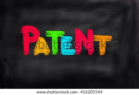 Patent Concept - stock photo