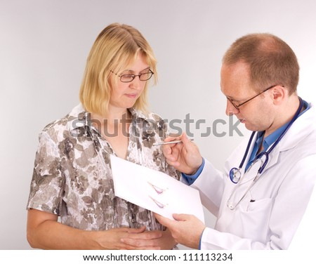 Patient undergoes plastic surgery - stock photo