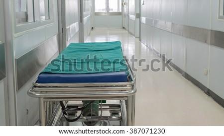 patients Stretcher - stock photo