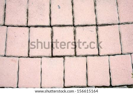 Patio bricks background  - stock photo