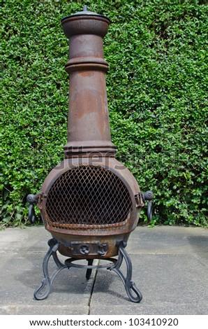 Awesome Patio Wood Burning Stove Chimenea