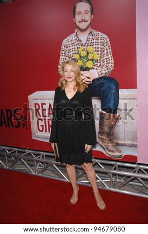 "Patricia Clarkson at the Los Angeles premiere of her new movie ""Lars and the Real Girl"". October 3, 2007  Los Angeles, CA Picture: Paul Smith / Featureflash"